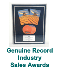 Genuine Record Industry Sales Awards